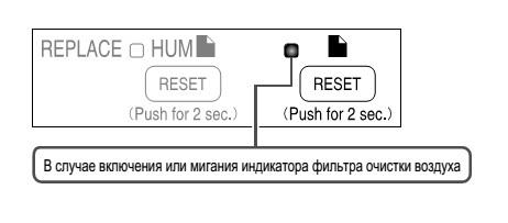 Как заменить фильтр в Daikin MCK75J